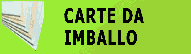 CARTE DA IMBALLO